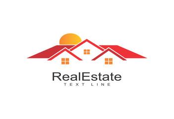 Creative Real Estate Vector Icons logo