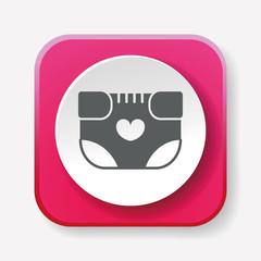 baby diaper icon