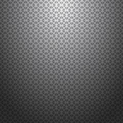 Gray geometric seamless pattern