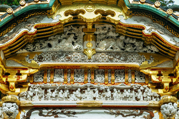 Karamon Gate - at Nikko, Toshogu Shrine in Japan