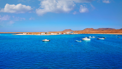 Majanicho in Fuerteventura Canary Islands