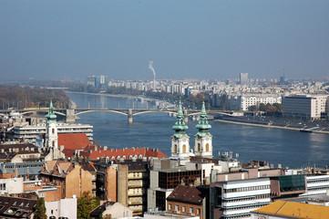 Budapest, panorama cittadino