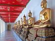 Buddha Statuen im Wat Pho, Bangkok, Thailand