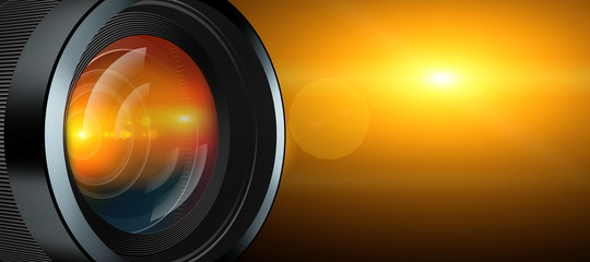 photographic lens and light