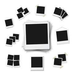 Blank Vintage Photo Frame Mockup Isolated on a White Background.