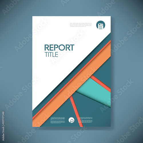 Free Report Cover Page Template. Cover Page Free Vector Art,Safety