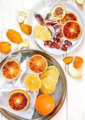 Pomarańcze krojone