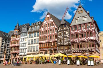 Old buildings in Frankfurt