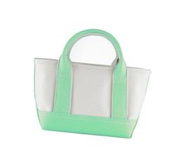 Woman accessory - stylish bag on white