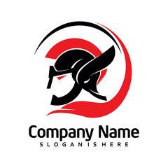 Elegant Knight Warrior Logo Template