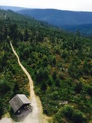 single hiking trail