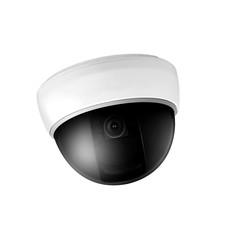 Omnipresent security camera video surveillance globe.