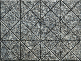 Gray Pavement of Pattern Triangles