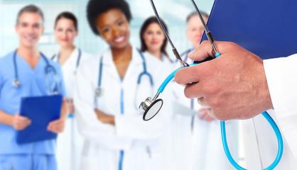 Doctor hands.