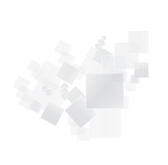 Abstract geometric shape background from gray squares
