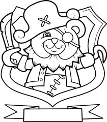 Teddy Bear Pirate