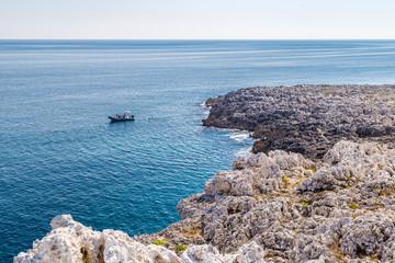 rocky coast of Salento