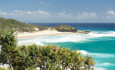 Frenchmans Beach Stradbroke Island