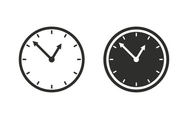 Clock - vector icon.
