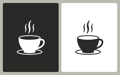 Coffee - vector icon.