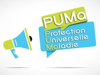 mégaphone : PUMa