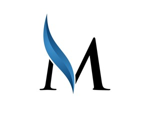 M Letter for Lawyer Logo