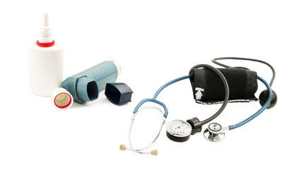Aerosols, and inhaler device for pressure measurement