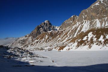 Escursione invernale alla Forca Rossa, Monzoni - Cima dell'Uomo - tra Moena e Falcade