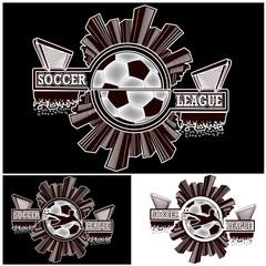 Set logo soccer league