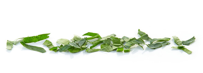 chopped parsley leaves