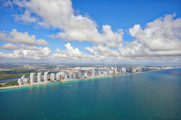 Aerial photo Sunny Isles Beach FL