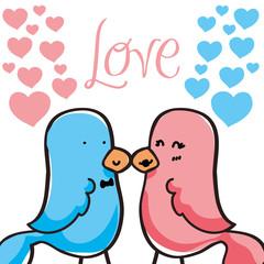 Love icon design