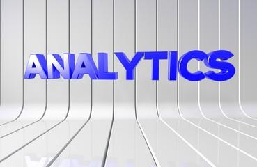 Analytics, 3D Tipografi