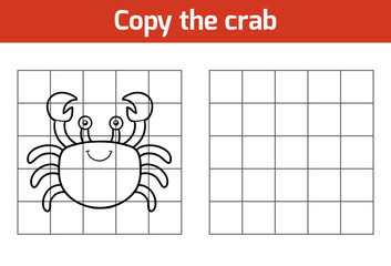Copy the picture (crab)