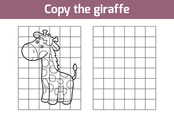 Copy the picture (giraffe)