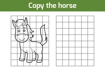 Copy the picture (horse)