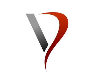 Vapor Smoke Initial V Letter