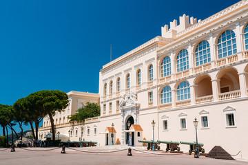 Royal palace, residence of Prince of Monaco