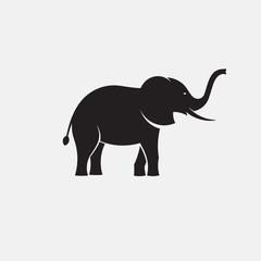 elephant minimal silhouette