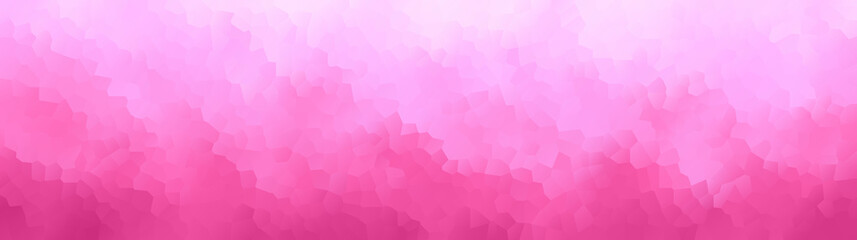 vector illustration - abstract mosaic pink polygon picture