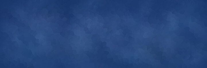 vector illustration - abstract mosaic blue polygon banner