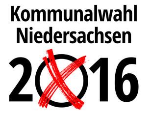Kommunalwahlen 2016 in Niedersachsen