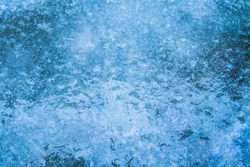 Ice closeup shot