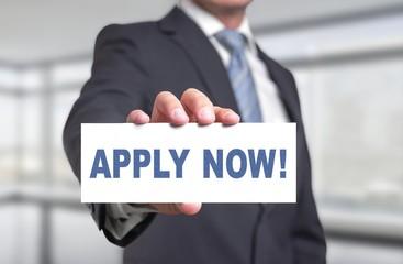 Apply now!  / Jetzt bewerben!