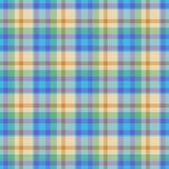 Decorative fabric texture - tartan