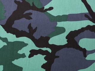 Stoff mit Camouflagemuster