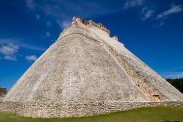 uxmal ruins in yucatan, mexico