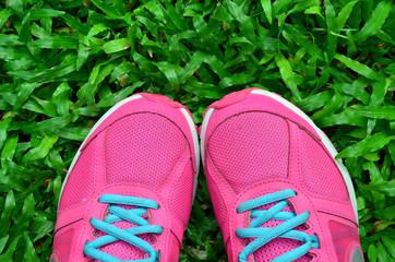 Pink Sport Shoe