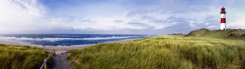 Sylt am Strand Panorama