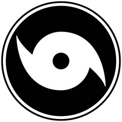 Hurricane Watch Symbol